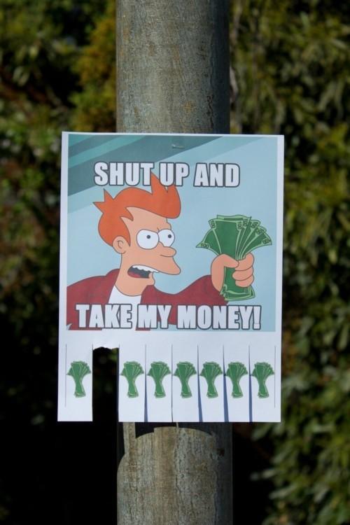 Take my Money - meme