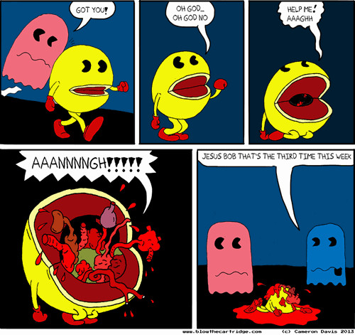 52addb7a38968 what really happens when pac man dies meme by shzball ) memedroid