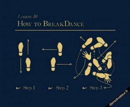 how to breakdance - meme