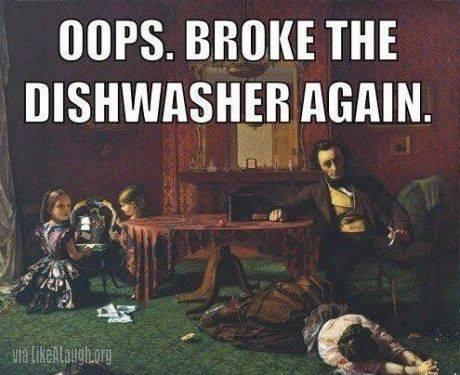 Dishwhasers before - meme