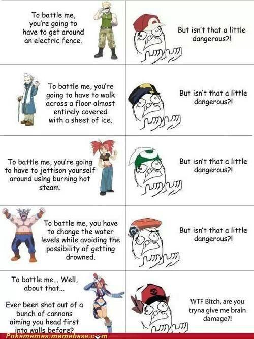 Gym Leaders..... - meme
