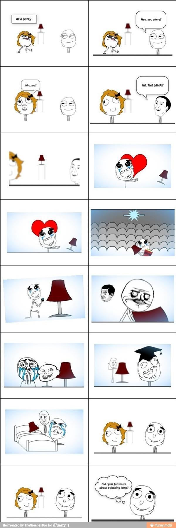 lamp - meme