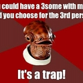 3some trap