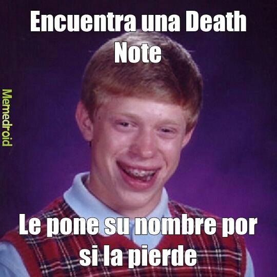 Death Note - meme