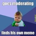moderating win