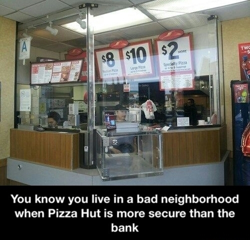 pizza hut is awesome - meme