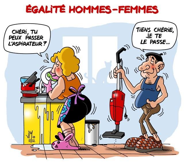 Égalité Hommes-Femmes - meme