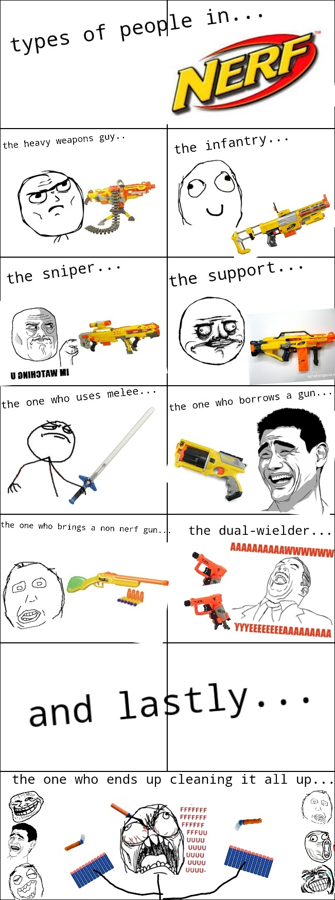 Its nerf or nothing... - meme