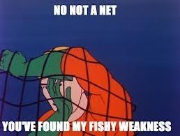 Aquaman VS Net - meme