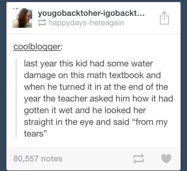 school makes me cry too, kid :) Memedroid