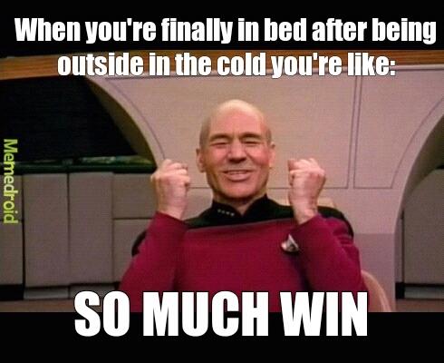 I lobe being warm :3 - meme