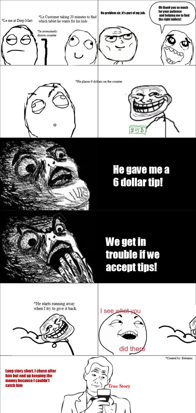 My First Rage Comic - meme