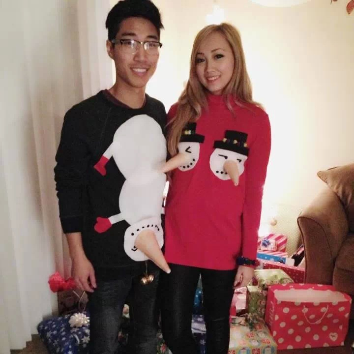 Christmas sweaters done right - meme