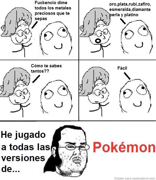 pokemon nos enseña muchas cosas - meme
