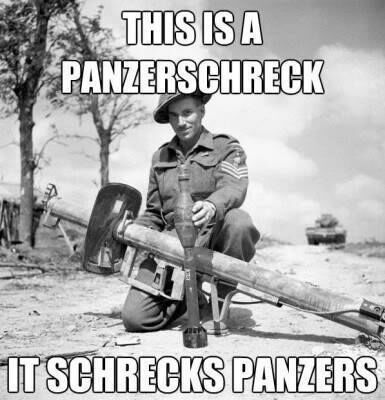 Panzerschreck W@W - meme