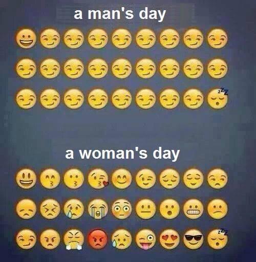 hombres, y mujeres - meme