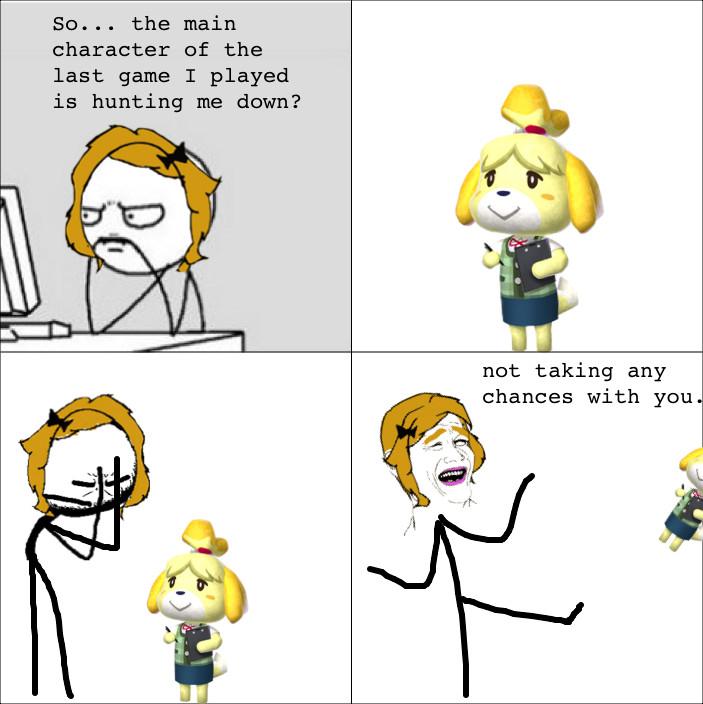 Animal Crossing - meme