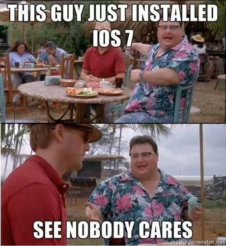 nobody cares - meme