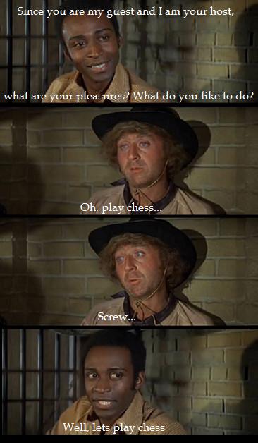Blazing Saddles - meme