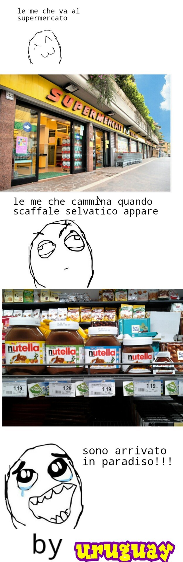 adoro la Nutella!!!!! - meme
