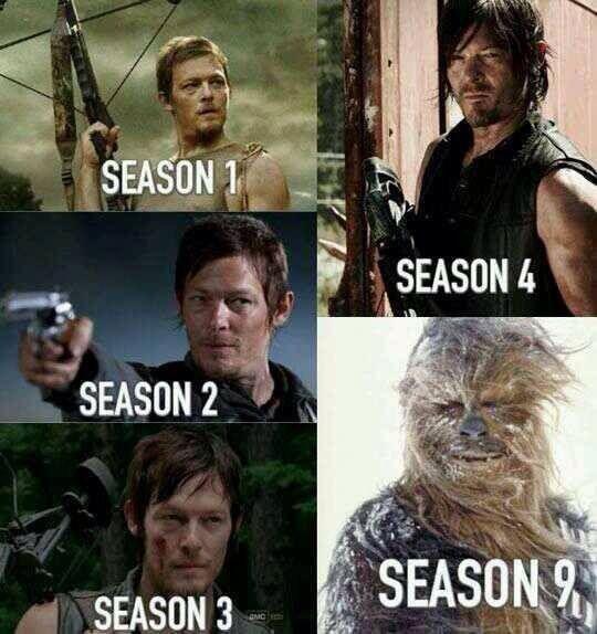 Daryl <3 - meme