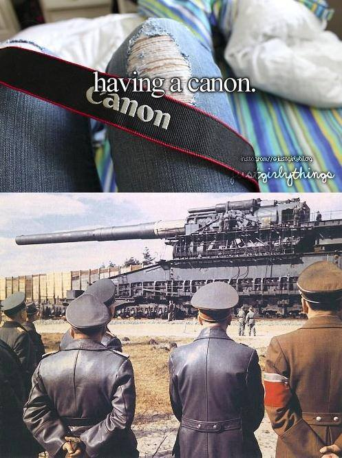 Do you have a Canon? - meme