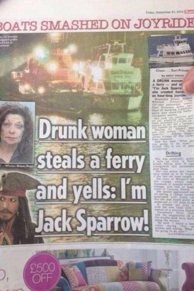 Im jack sparrow! captain jack sparrow! - meme