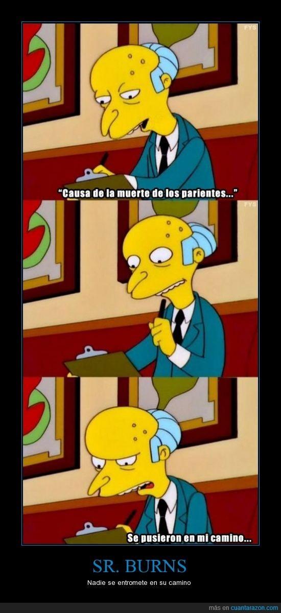 C.M. Mongomeri Burns - meme