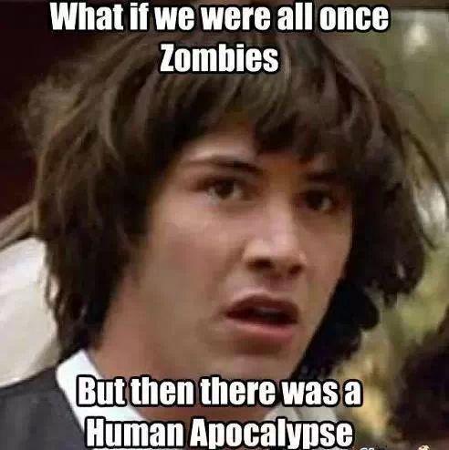 Past Life Zombie - meme