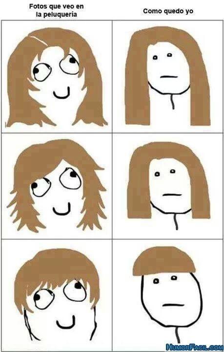 peluquerías - meme