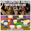 college parties