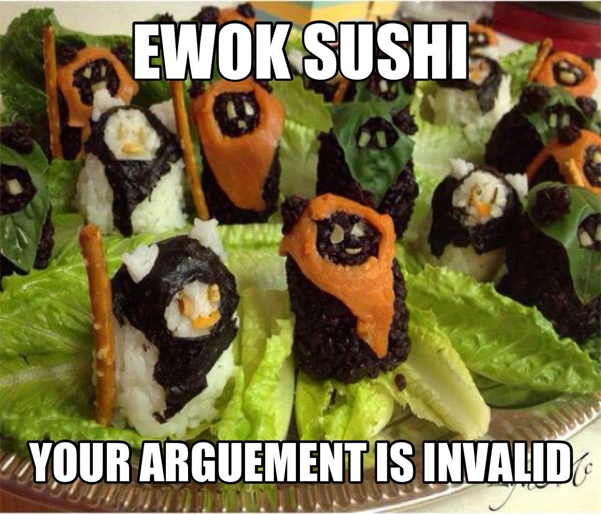 521e760b57acf ewok sushi meme by greyjedi ) memedroid