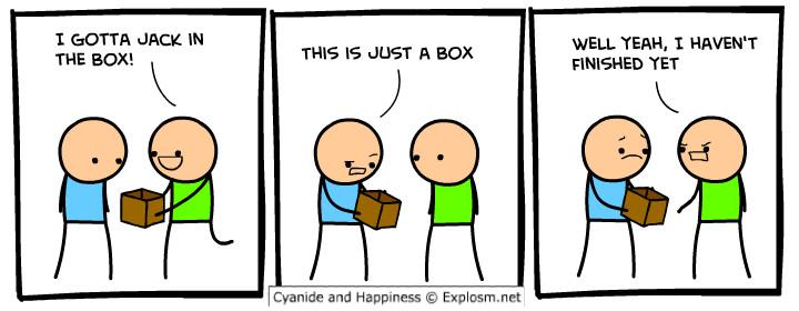 dick in a box - meme