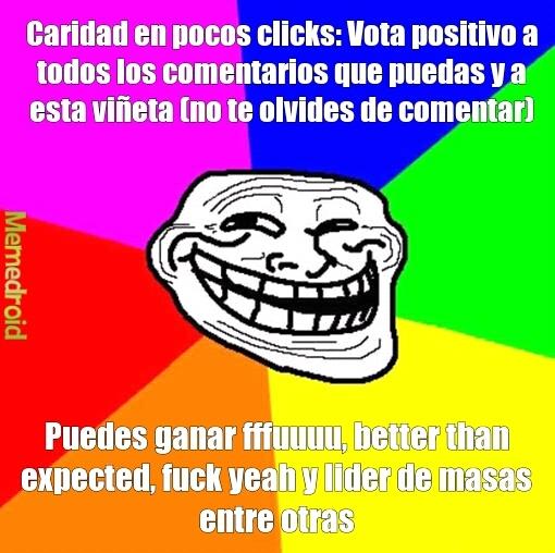 Comenta, vota, modera. GANA! ;) - meme