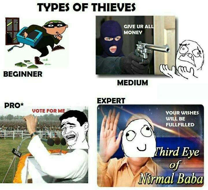 Thieves - meme