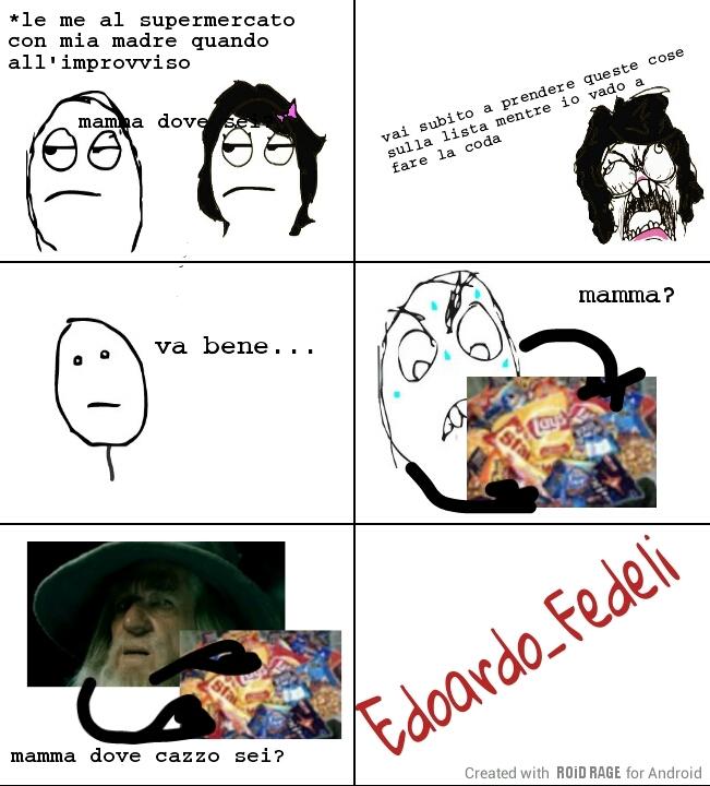 Tristi scene di vita vissuta - meme