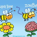 zombees get zomBEES :D