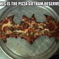 Batman pizza