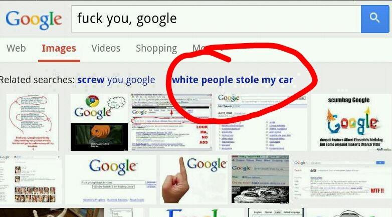 Google. Why? - meme