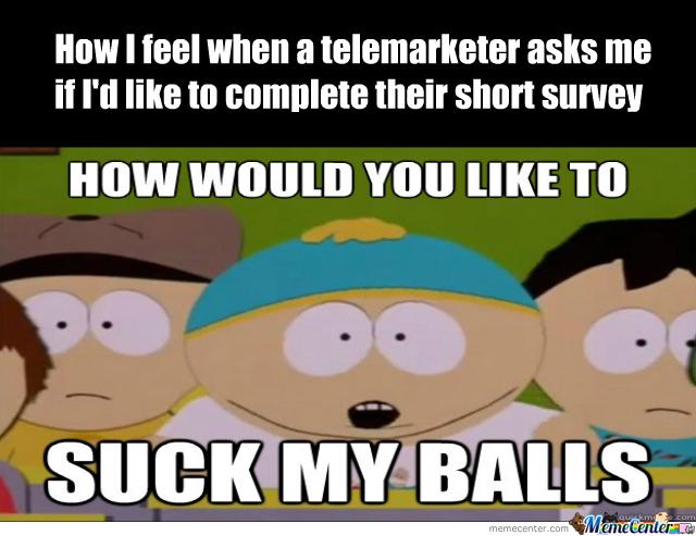 title hates telemarketers - meme