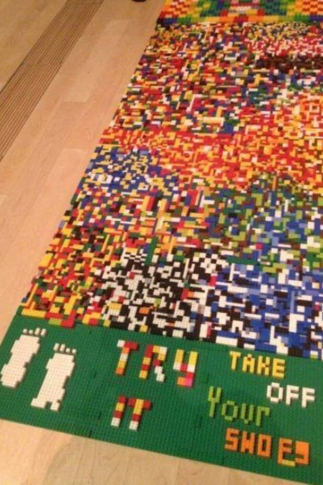 Fuck no Lego  - meme
