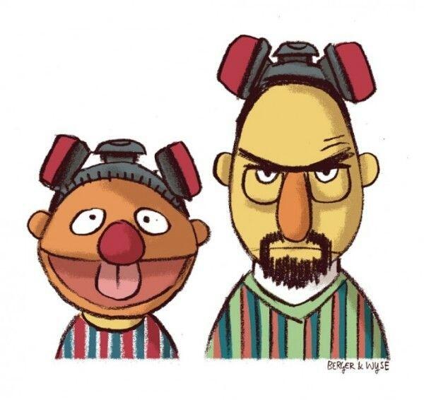 Jesse and Walt - meme