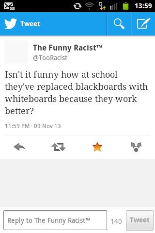 le funny racist - meme