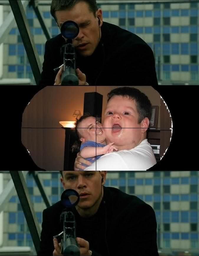 The Bourne Face Swap - meme