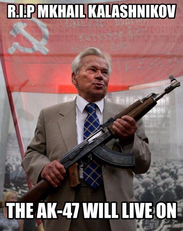 R.I.P Kalshnikov - meme