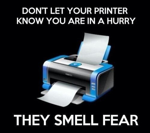Printer Pls - meme