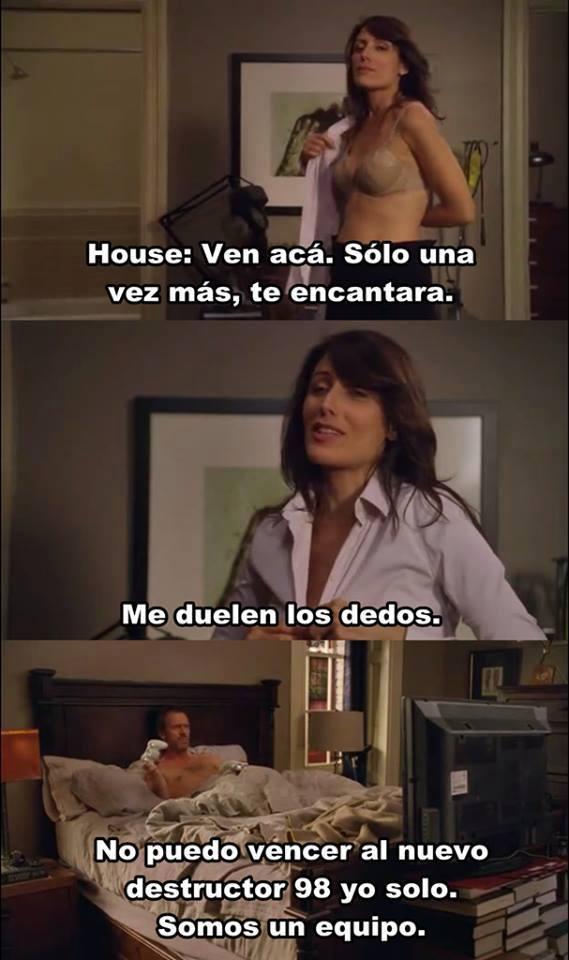Dr.House la inspiración de muchos  - meme