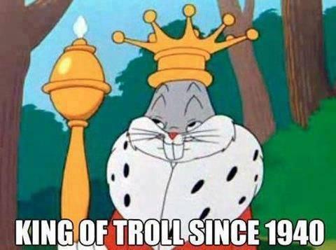 King of the Troll - meme