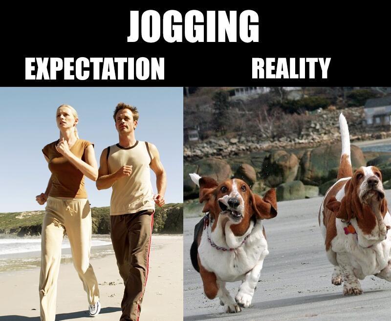 Jogging - meme