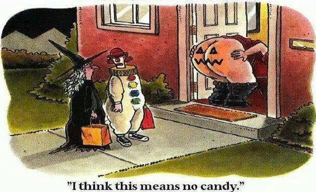 no candy here - meme